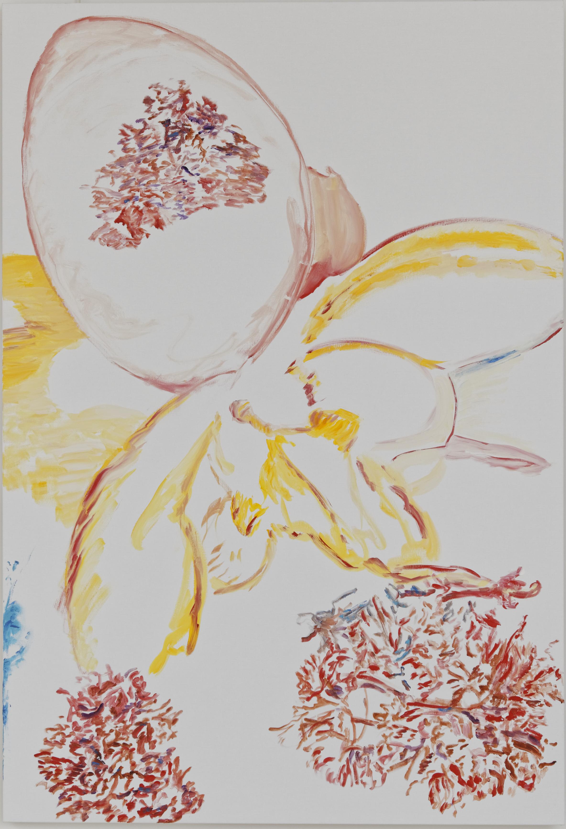Doux cocon (acrylic on canvas, 190 x 130 cm - 2016).