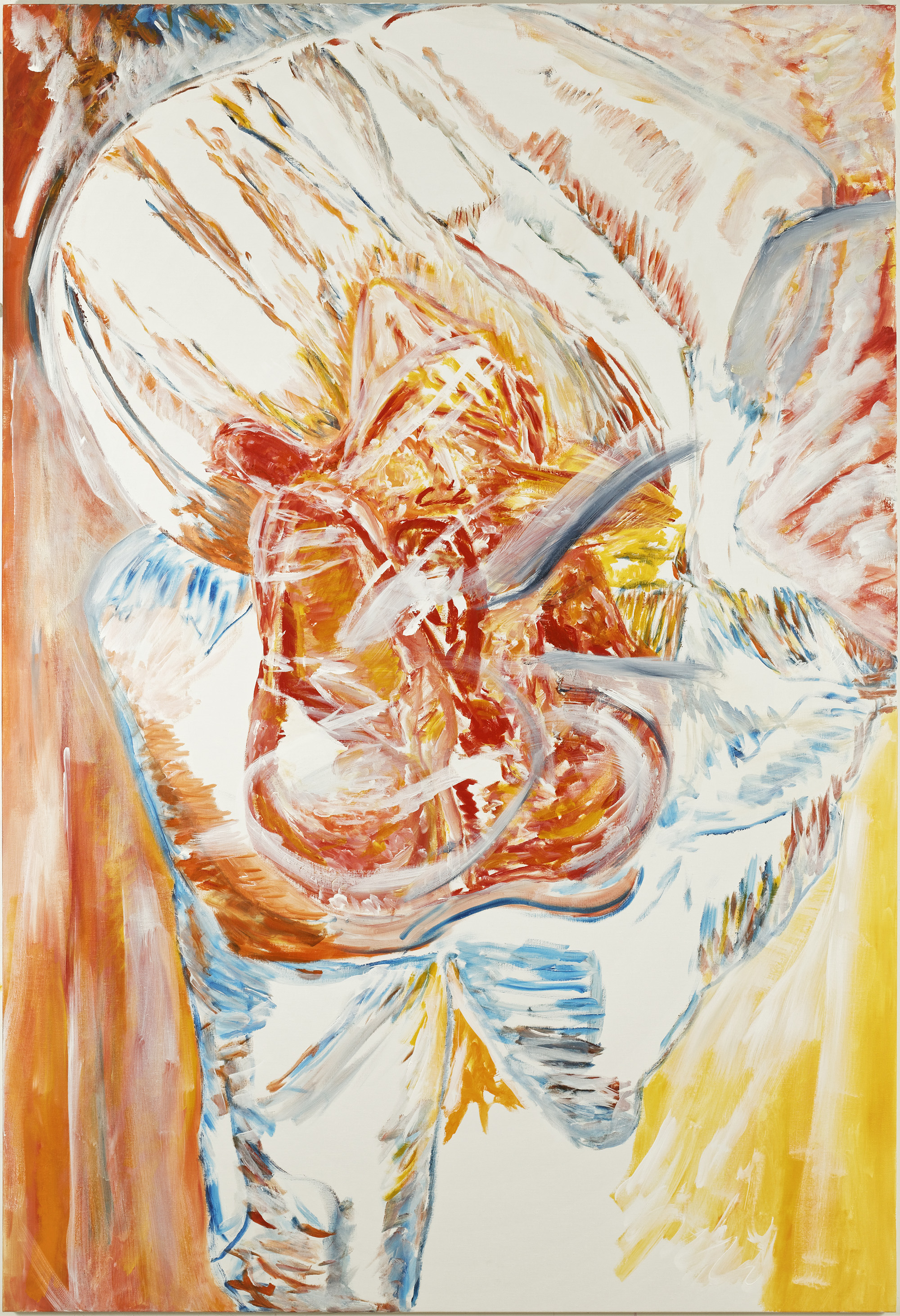 Coeur d'arti-fleur (acrylic on canvas, 130 x 190 cm - 2018)