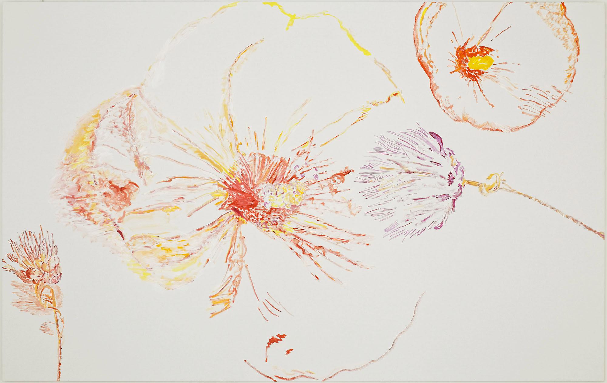 Prefigure (C) (acrylic on canvas, 200 x 300 cm - 2015).