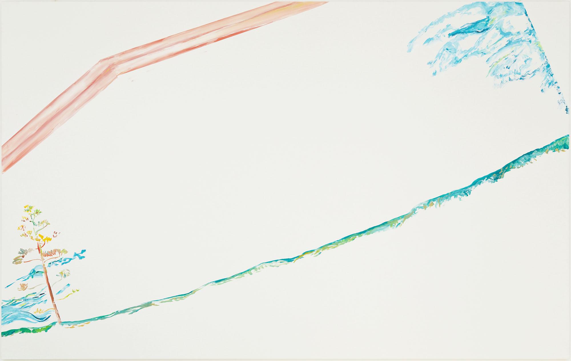 Prefigure (A) (acrylic on canvas, 200 x 300 cm - 2015).