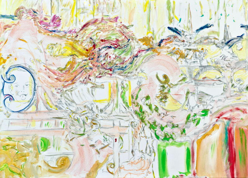 08-10-1957 / 08-03-2012 (acrylic, pastel and pencil on canvas, 100 x 140 cm - 2012)